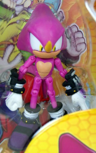 Sonic the Hedgehog Exclusive 3.5 Inch Action Figure with Comic 2-Pack Translucent Sonic and Knuckles