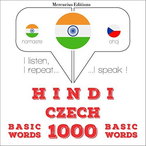Hindi - Czech. 1000 basic words cover art