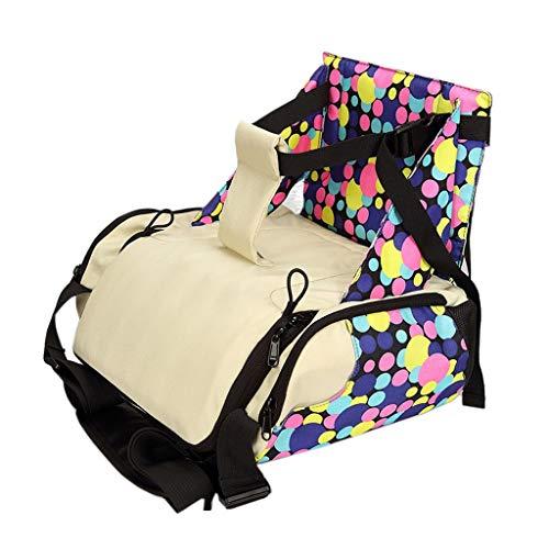 Sac à Langer bébé Chaise dalimentation siège dappoint Portable sièges bébé Sac de maternité Nouveau-né Sac à Langer siège bébé Soins (Color : Multi-Colored)