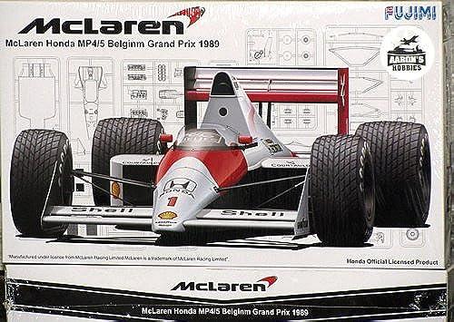 1 20 '89 McLaren Hinda MP 4 5 Belgium Gründ Prix