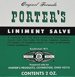 porter's liniment salve