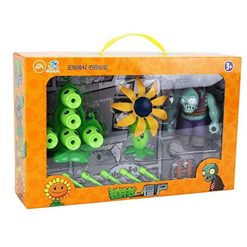Nessuna scatola 2020 Nuovo giocattolo Piante contro zombi Gioco di animazione Azione Giocattolo in PVC Regalo di compleanno per bambini