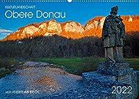 Kulturlandschaft Obere Donau (Wandkalender 2022 DIN A2 quer): Spuren der Geschichte im Oberen Donautal (Monatskalender, 14 Seiten )