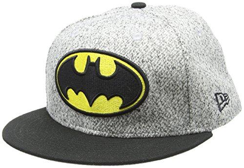 New Era Herren Classic Trim FIT Batman OTC Cap, Grey, 7 38-58,7cm (L)