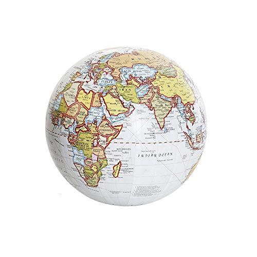 Globo terráqueo Decorativo y Educativo, Mapa Mundi Decoración del Hogar/Escritorio. Diseño Vintage/Original 13x13 cm - A