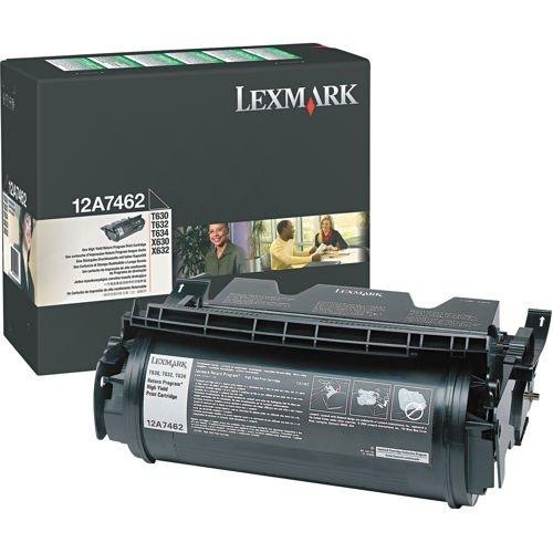 12A7462 Lexmark T632 Tonerkartusche Schwarz