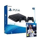 Pack PS4 + 2ème manette + FIFA 18