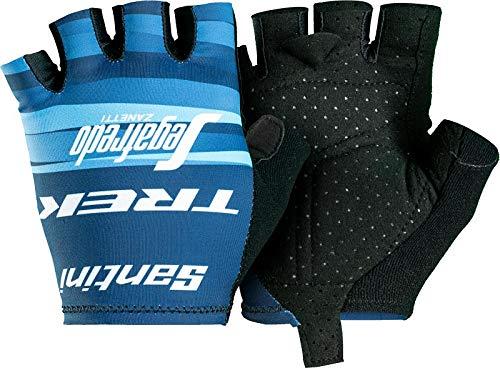 Bontrager Santini Trek Segafredo Team Damen Fahrrad Handschuhe kurz blau 2021: Größe: M (7)