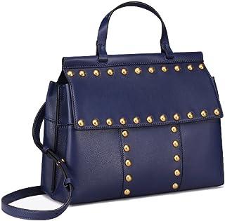 Tory Burch T Stud Satchel Ladies Medium Leather Handbag 44329403
