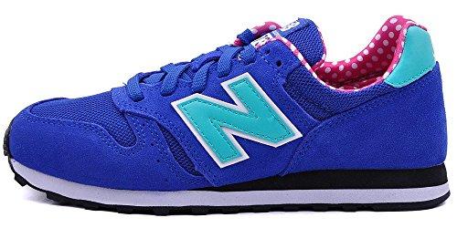 New Balance Mädchen Wl373 Low-top, blau, 35 EU