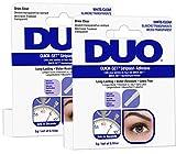 Ardell Duo Quick Set Clear/Transparent, Wimpernkleber für künstliche Wimpern, das Original für...