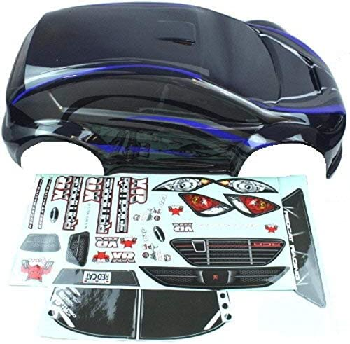 Redcat Racing 1 5 Scale Rally Car Body for Rampage XR Blue Black product image
