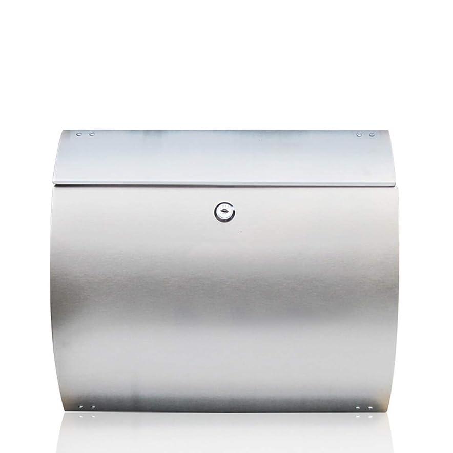 気楽な作り上げる肉屋ステンレス鋼の郵便箱の屋外のヨーロッパ式の別荘の壁に取り付けられた防雨のレターボックス 屋外セキュリティメールボックス