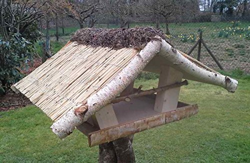 """Vogelfutterhaus mit Reetdach """"Friesenhaus groß"""" - 2"""