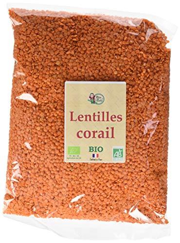 RITA LA BELLE Lentille Corail BIO, 5 kg