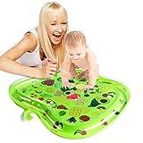 Wassermatte Baby Aufblasbare Wasserspielmatte Tastmatte Bauchzeit für Säuglinge und Kleinkinder, Spielzeug für Baby, Innen und Außen (Apple)