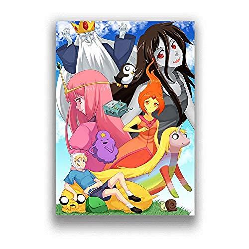 ZZFJF Rompecabezas para adultos 1000 piezas clásico de anime Hd Art Poster abstracto moderno regalo divertido juego de madera 75 x 50 cm