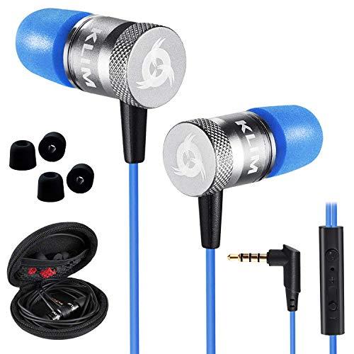 KLIM Fusion Auricolari con Microfono + Audio di Alta qualit + Cuffie di Lunga Durata con Memory Foam...