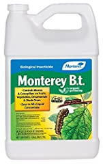 Biological insecticide For organic gardening Controls worms and caterpillars on fruits, vegetables, ornamentals and shade trees Easy-To-Mix liquid concentrate 1 gallon size container
