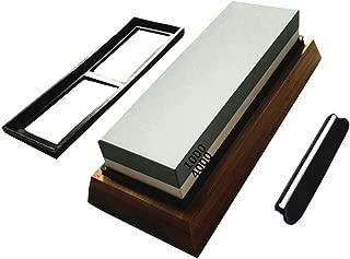 Fan-Ling Whetstone,Knife Sharpening Grit Stone,Kitchen Whetstone Sharpener,Sharpening Stone Dual Whetstone Grindstone Sharpener Kitchen 1000#4000,Corrosion-Resistant, Heat-Resistant