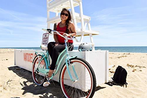 51Twi4vh3ZL. SL500 Schwinn Perla Womens Beach Cruiser Bike