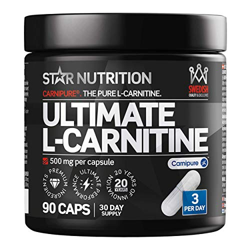 Ultimate L-Carnitine by Star Nutrition | High-Quality Dietary Supplement | Consists of The trademarked L-carnitine Source Carnipure  | Scandinavian Brand