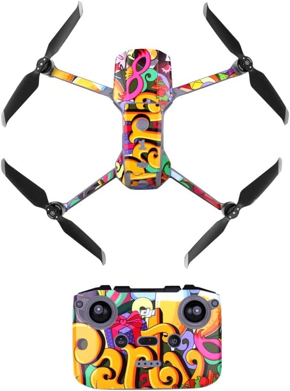 Demon Graffiti Haoh Waterproof Sticker Anti Scratch Skin Protective Film Drone Body and Remote Control Decoration for DJI Mavic AIR 2 Accessories