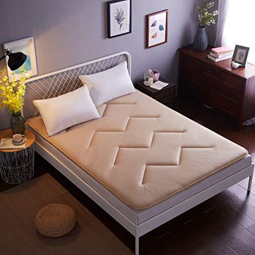YLCJ matras met ademende netstof, opvouwbare matras Tatami Easy Pad Sleeping Summer Sleeping Matrass-A 150 x 200 cm (59 x 79 inch).