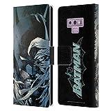 Head Case Designs sous Licence Officielle Batman DC Comics Nouvelle Edition Couverture de Bande dessinée Hush Coque en Cuir à Portefeuille Compatible avec Samsung Galaxy Note9 / Note 9