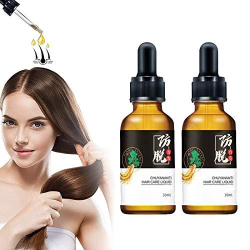 10X-Strong Hair Regrowth Serum 30ml, Hair Activating Serum, Hair Growth Oil, Hair Growth Serum Anti Hair Loss Thinning Balding, Promotes Thicker, Repairs Hair Follicles (2pcs)
