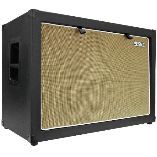 Seismic Audio - 2x12 GUITAR SPEAKER CAB EMPTY - 7 Ply Birch - 212 Speakerless Cabinet NEW 12