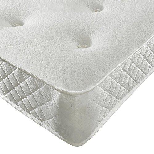 Sleep Factory Limited Memory Foam Open Sprung Mattress 10' Deep 6FT Super King (180 x 200 cm)