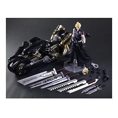Jaypar Final Fantasy VII Figur Wolke Fenrir Wolf Motorrad Abbildung Movable Action-Figur