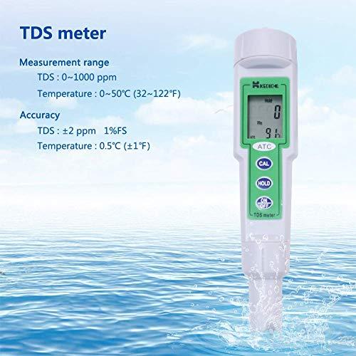 Waschbecken Taps, CT-3060 Pen Trinkwasser Tester Leitungswasserhärte-Test TDS Test-Feder Messwerkzeug Badezimmerarmaturen