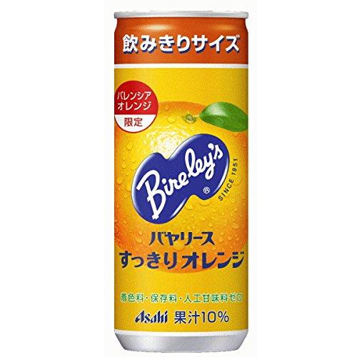 バヤリース すっきりオレンジ 245g×30本 缶