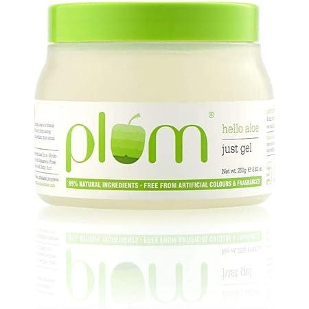 Plum Hello Aloe Just Gel | For All Skin & Hair Types | Multi-purpose Aloe Vera gel | 100% Vegan | 100% Fragrance Free | 250 gm