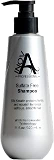Inova Professional Silk Keratin Smooth Protection Sulfate-Free Shampoo, 11 Fluid Ounce