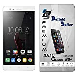 Delight Seller Flexible Nano Glass Screen Protector With ♥♥Unbreakable Nano Film Glass♥♥ 【 Better Than Tempered Glass 】 Screen Protector Compatible For 【Lenovo Vibe K5 Note (Silver, 64 GB) (4 GB RAM)】