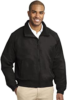 CornerStone Men's Duck Flannel-Lined Work Jacket_True Black_X-Large Tall