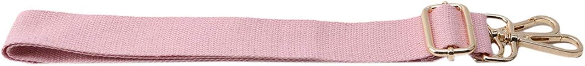 Botreelife Dick Segeltuch Tasche mit Ersatz Schultergurt verstellbare Tasche Gürtel Zubehör Rosa