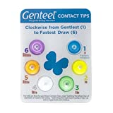 Genteel Replacement Contact Tips (6 Pack) (Rainbow)