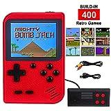 RXYYOS Tragbare Handheld Spielkonsole, 400 Klassische Spielen und 3.0-Zoll-LCD Bildschirm Retro FC Spielkonsolen