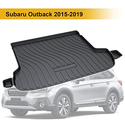 スバル アウトバック Subaru Outback 2015-2019対応 ラゲッジトレイ トラックマット オフロードバージョン用 3Dラゲッジマット 車種専用設計 純正交換 カーゴマット 防水 耐摩擦 耐汚れ 滑り止め カーパーツ