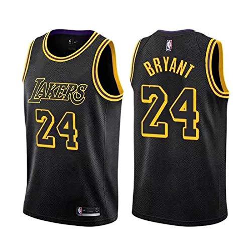 MTBD Herren-Trikots, NBA Kobe Bryant, Retro-Trikot Nr. 8 von Los Angeles Lakers, Vintage-Basketball-Trikot Nr. 24, atmungsaktive und tragbare Stickerei, Herren- und Herren-Trikots