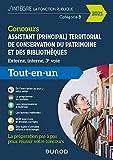 Concours Assistant (principal) territorial de conservation du patrimoine et des biblothèques - 2021: Tout en un - Concours 2021 (2021)