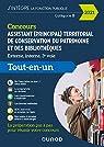 Concours Assistant  territorial de conservation du patrimoine et des biblothèques - 2021: Tout en un - Concours 2021 par Féraud