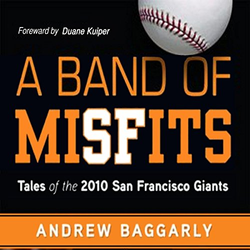 A Band of Misfits audiobook cover art