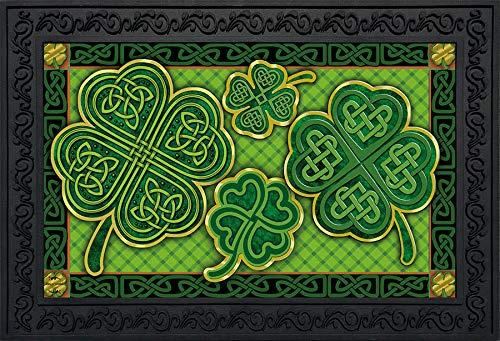 Briarwood Lane Celtic Shamrocks St. Patrick's Day Doormat Irish 18' x 30'