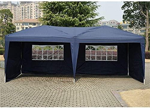 N/Z Campingausrüstung Leichtes Campingzelt Markisenschatten 10 'X 20' Pavillon Partyzelt Non-Top Hochzeitsdach mit Tragetasche (Farbe: Weiß Größe: 3x6x2,5 m)