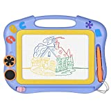 Magnetic Drawing Board Erasable for Kids - Colorful Magna Doodle Toys - Gifts for Toddlers Boys...